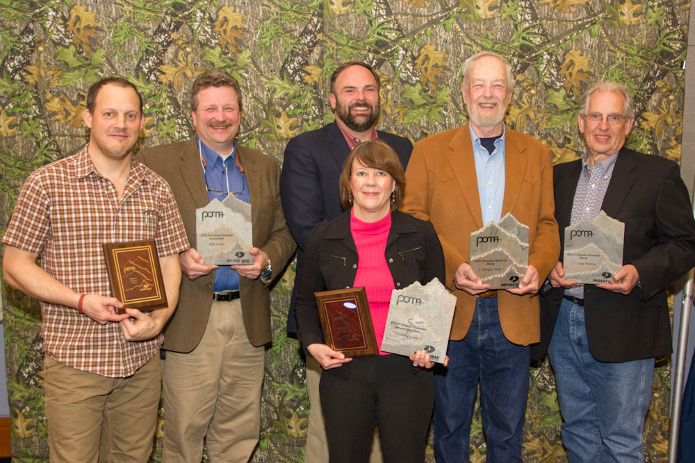 Pinnacle Award Winners (L to R): Tony Bynum, Bill Miller, Kevin Tate, Tammy Sapp, J. Wayne Fears and J. Craig Haney